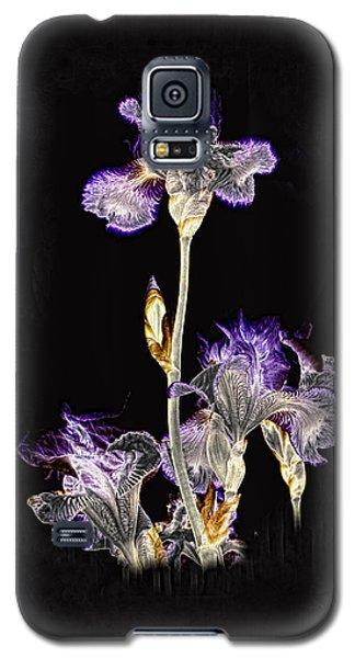 Midnight Iris Galaxy S5 Case