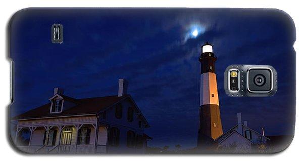 Midnight Moon Over Tybee Island Galaxy S5 Case