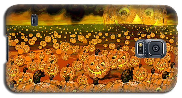 Midnight Pumpkin Patch Galaxy S5 Case
