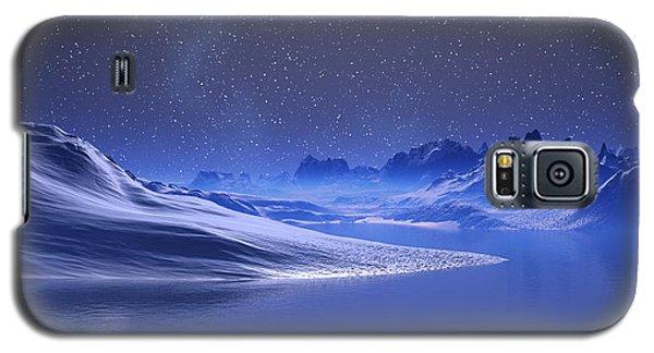 Midnight Snow Galaxy S5 Case
