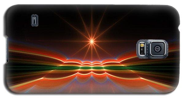 Midnight Sun Galaxy S5 Case by GJ Blackman