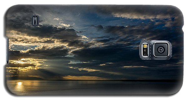 Midnight Sun Over Cook Inlet Galaxy S5 Case by Andrew Matwijec