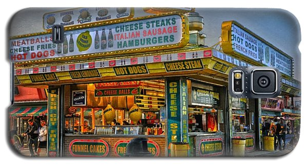 Galaxy S5 Case featuring the photograph Midway Steak House by Debra Fedchin
