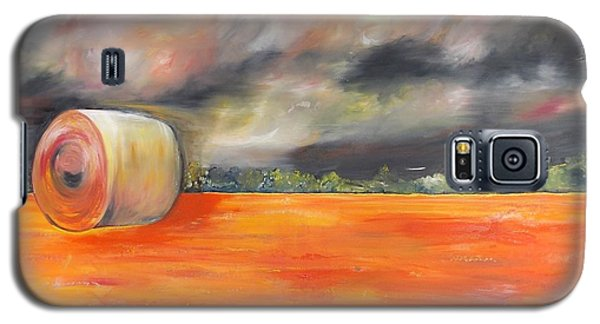 Galaxy S5 Case featuring the painting Midwest Grandeure by PainterArtist FIN