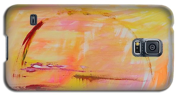 Galaxy S5 Case featuring the painting Midwest Sunrise by PainterArtist FIN