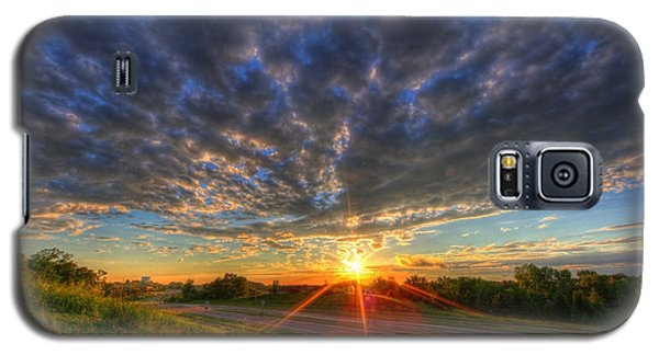 Midwest Sunset After A Storm Galaxy S5 Case