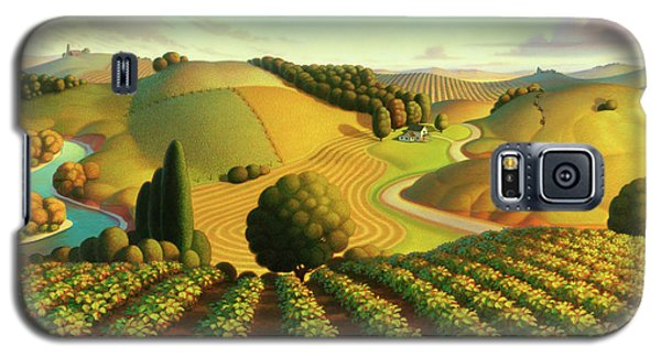 Midwest Vineyard Galaxy S5 Case by Robin Moline