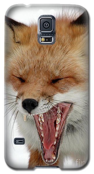 Galaxy S5 Case featuring the photograph Mighty Big Yawn by Sami Martin