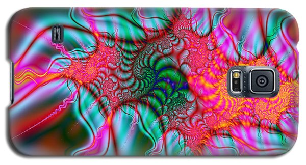 Galaxy S5 Case featuring the digital art Migraine by Elizabeth McTaggart