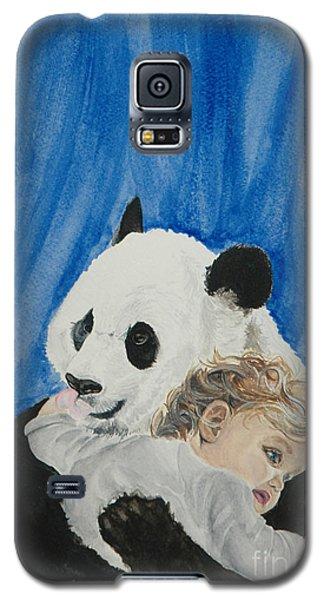 Mika And Panda Galaxy S5 Case by Tamir Barkan