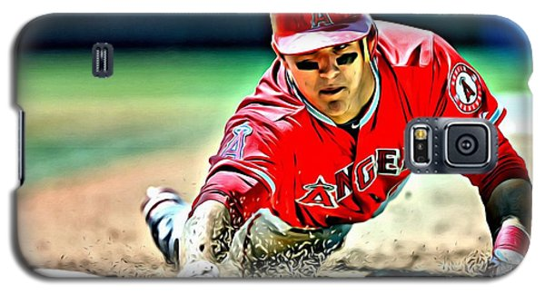 Mike Trout Painting Galaxy S5 Case