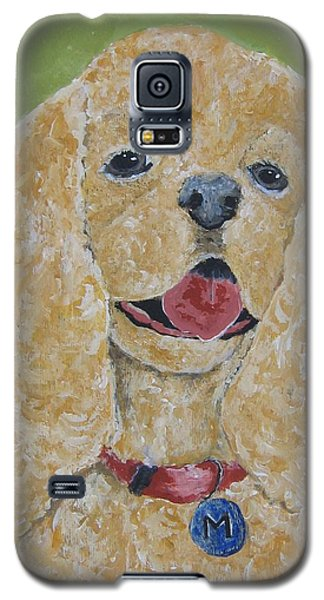 Galaxy S5 Case featuring the painting Mikey by Suzanne Theis