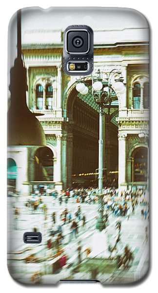 Galaxy S5 Case featuring the photograph Milan Gallery by Silvia Ganora