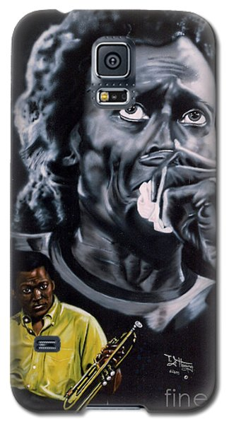 Miles Davis Jazz King Galaxy S5 Case