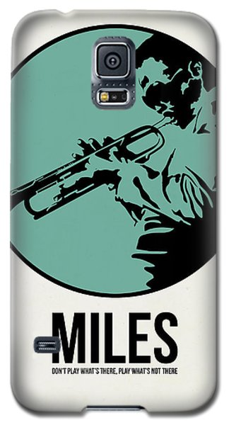 Miles Poster 1 Galaxy S5 Case by Naxart Studio