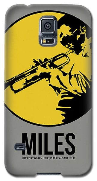 Miles Poster 3 Galaxy S5 Case by Naxart Studio