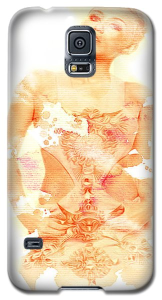Galaxy S5 Case featuring the digital art Miley by Brian Reaves