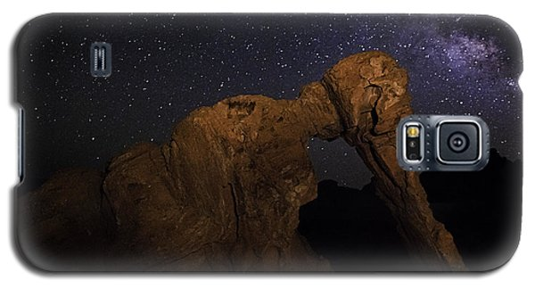Milky Way Over The Elephant 2 Galaxy S5 Case