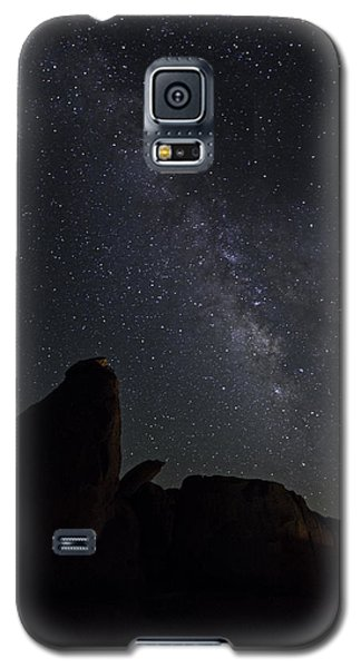 Milky Way Over The Seven Sisters Galaxy S5 Case