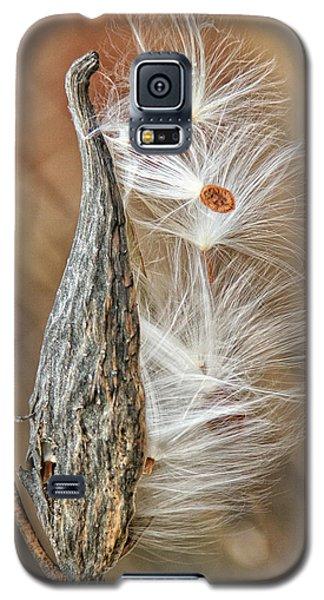 Milkweed Pod And Seeds Galaxy S5 Case