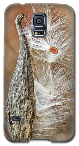 Milkweed Pod And Seeds Galaxy S5 Case