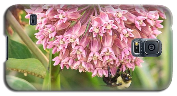 Galaxy S5 Case featuring the photograph Milkweed by Shirley Moravec