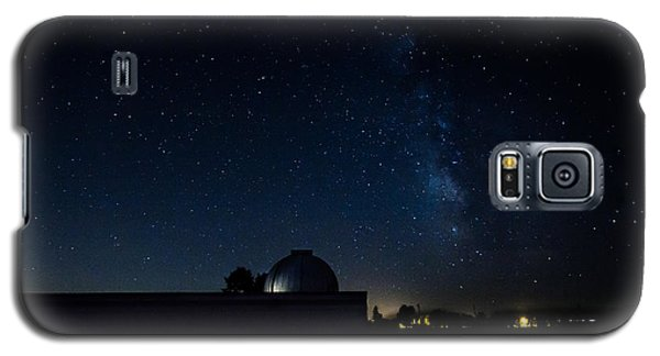 Milky Way And Observatory Galaxy S5 Case