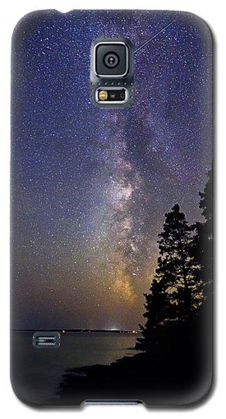 Milky Way At Acadia National Park Galaxy S5 Case