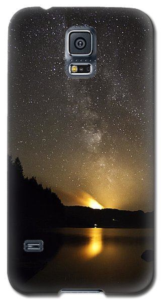 Milky Way At Crafnant 2 Galaxy S5 Case by Beverly Cash