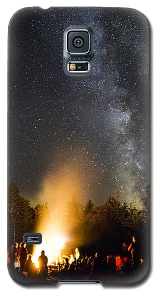 Milky Way At Flagstaff Hut Galaxy S5 Case