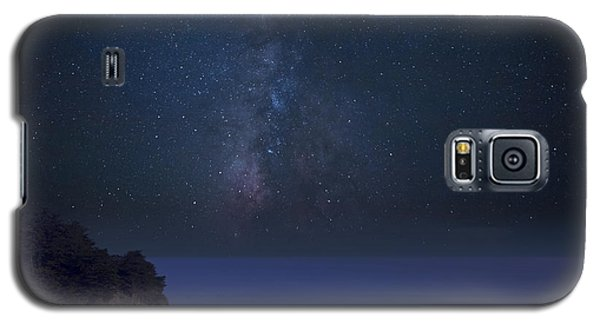 Milky Way Over Mcway Falls Galaxy S5 Case