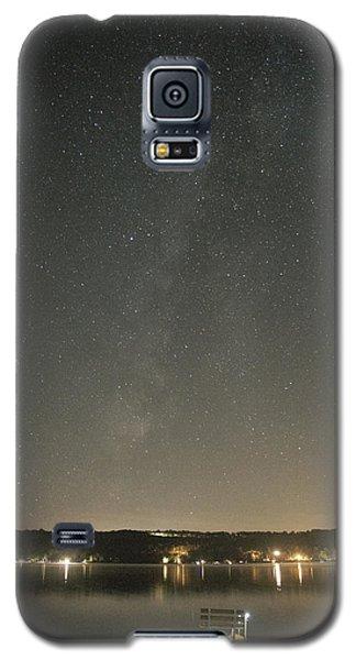 Milky Way Spills Into Conesus Galaxy S5 Case by Richard Engelbrecht