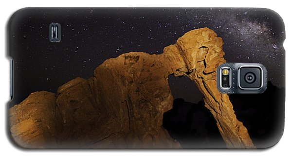 Milky Way Over The Elephant 3 Galaxy S5 Case