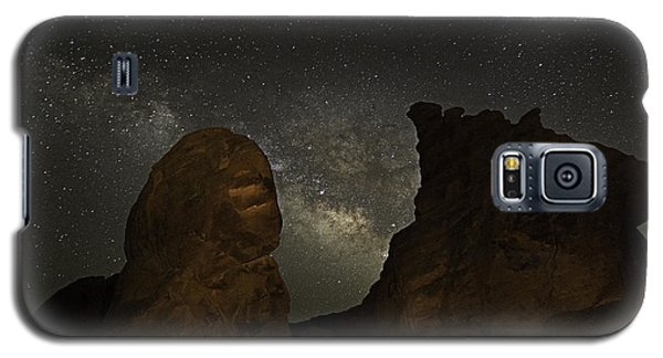 Milky Way Over The Seven Sisters 3 Galaxy S5 Case