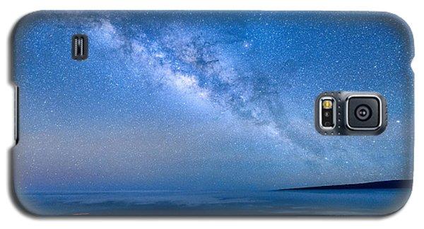 Milky Way Suspended Above Mauna Loa 1 Galaxy S5 Case