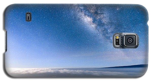 Milky Way Suspended Above Mauna Loa 2 Galaxy S5 Case