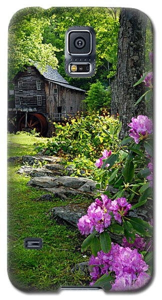 Mill And Rhododendrons Galaxy S5 Case