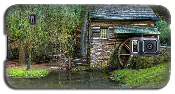 Mill Pond In Woods Galaxy S5 Case