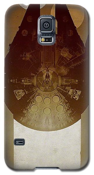 Millennium Falcon Galaxy S5 Case