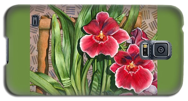 Miltonia Orchids Galaxy S5 Case