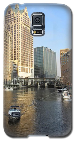 Milwaukee River Theater District 3 Galaxy S5 Case