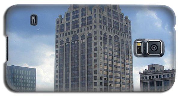Milwaukee Skyline Galaxy S5 Case by Nancy Kane Chapman