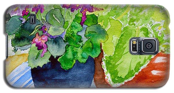 Mimi's Violets Galaxy S5 Case