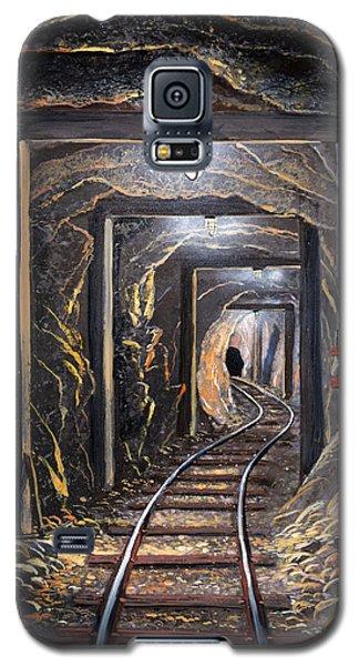 Mine Shaft Mural Galaxy S5 Case