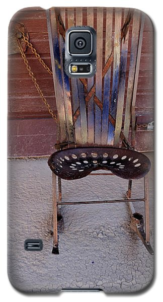 Galaxy S5 Case featuring the photograph Miner's Rocker by Fran Riley