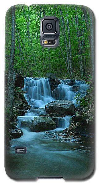 Miners Run Falls #1 - Evening Glow Galaxy S5 Case