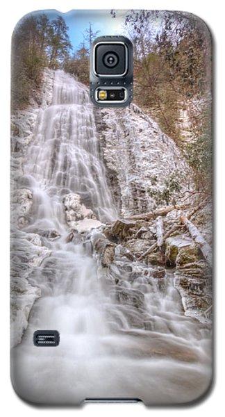 Mingo Falls In Winter Galaxy S5 Case