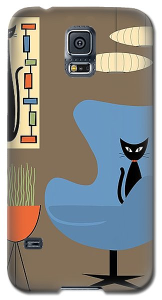Mini Rectangle Cat Galaxy S5 Case