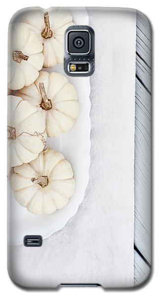 Mini White Pumpkins Galaxy S5 Case