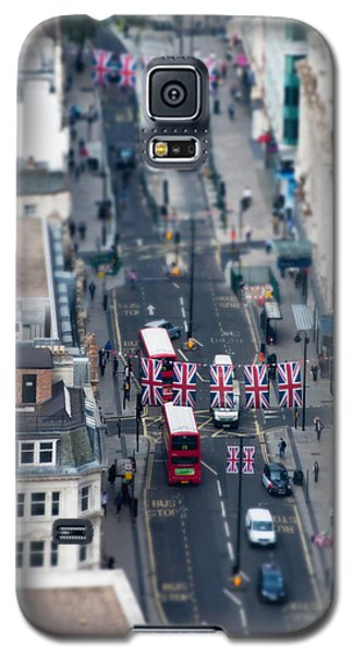 Miniature Oxford Street Galaxy S5 Case